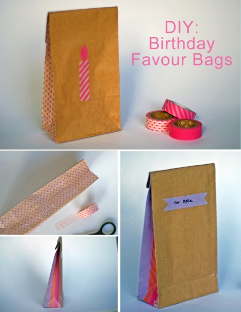 DIY: Birthday Favour Bags